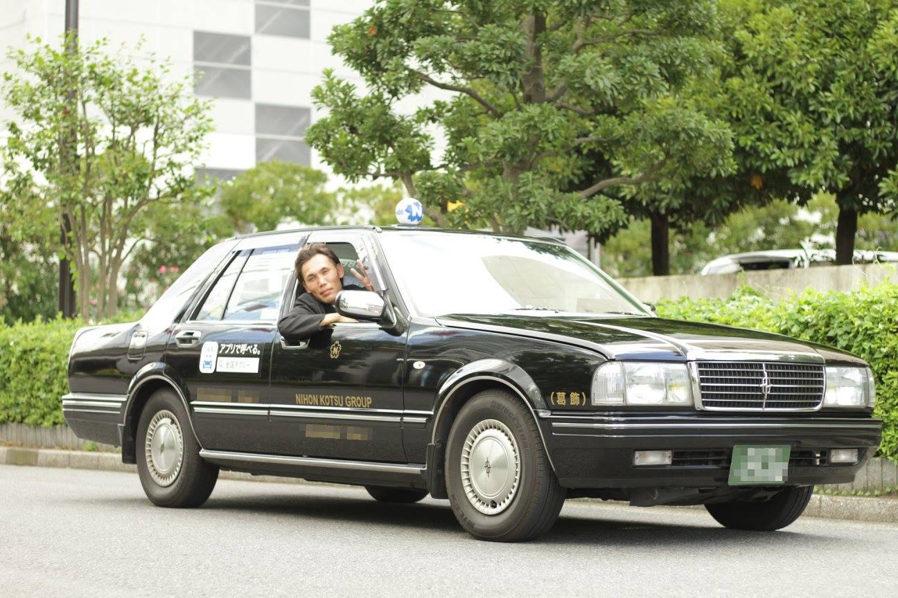 タクシードライバーデビュー